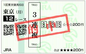 2月24日 東京12R 3連複.png